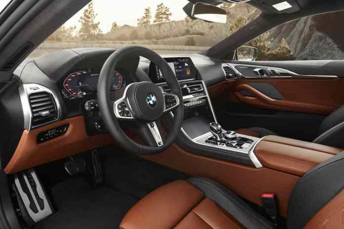 2019 BMW 8 Series Coupe interior
