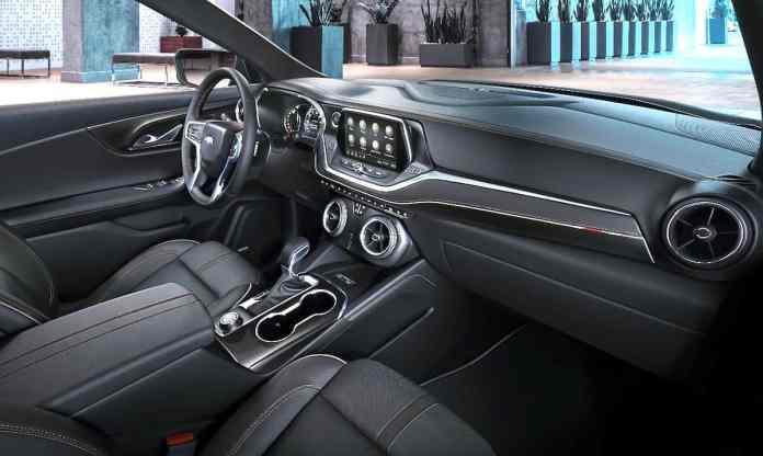 new chevy blazer interior