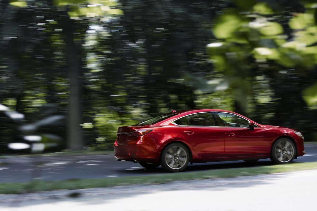 Mazda 6 2018 review rear