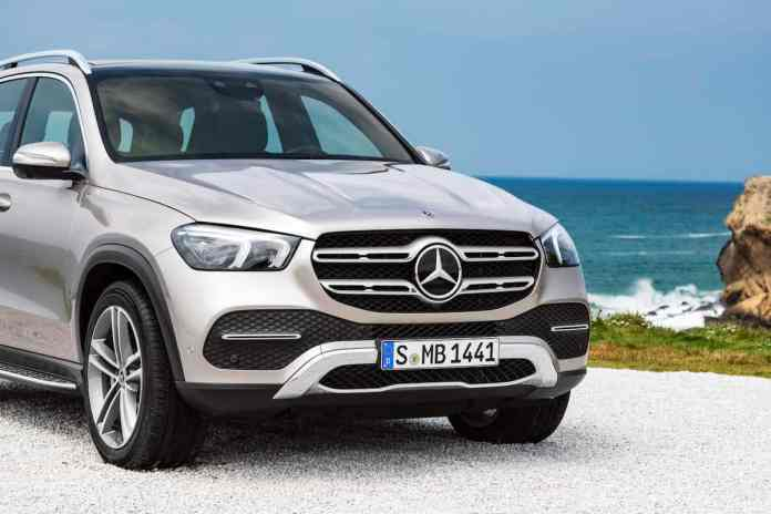2020 mercedes-benz gle front grill