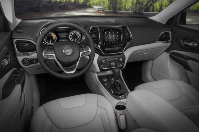 2019 jeep cherokee limited review interior