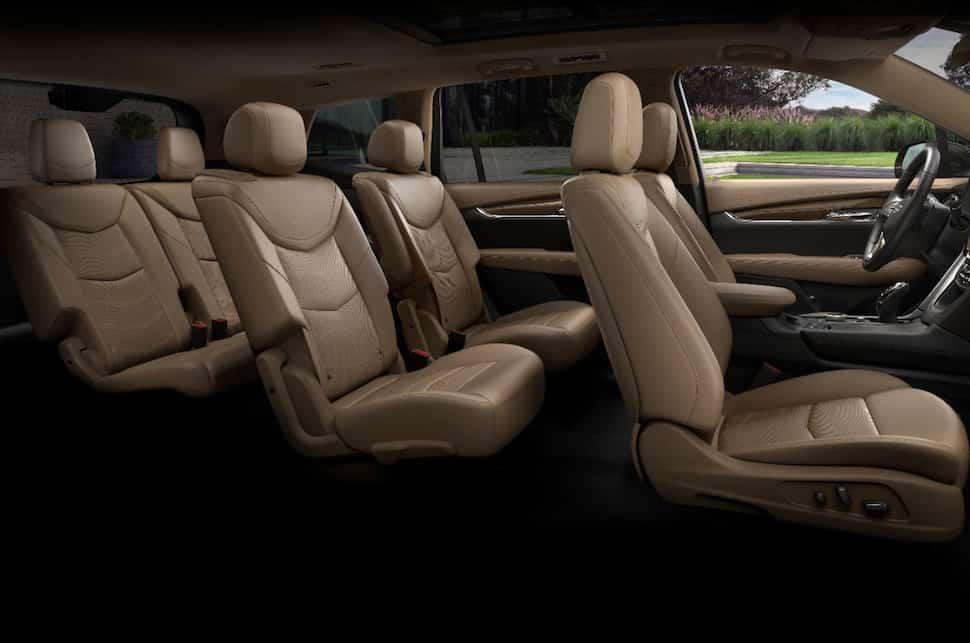 2020 Cadillac XT6 seats