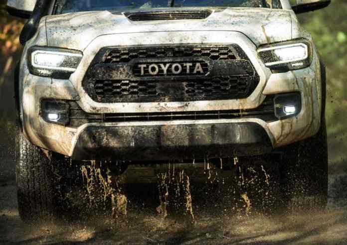 2020 Toyota Tacoma new headlights