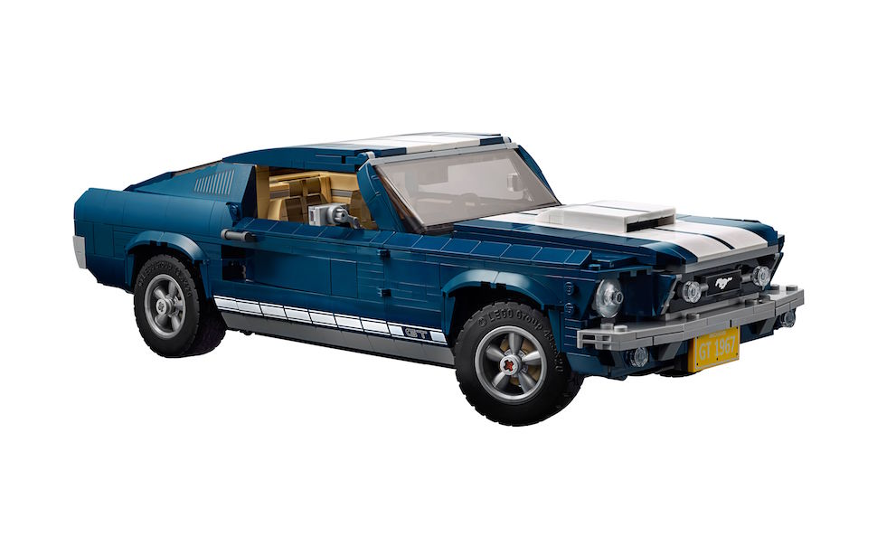 lego creator 1967 mustang fastback front