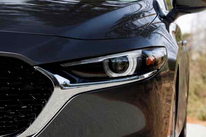 2019 Mazda3 sedan headlight