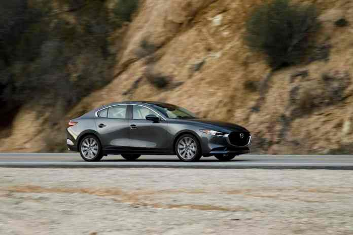 2019 mazda3 sedan driving impressions on the road