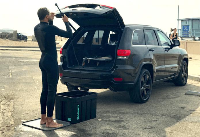 beachbox portable shower