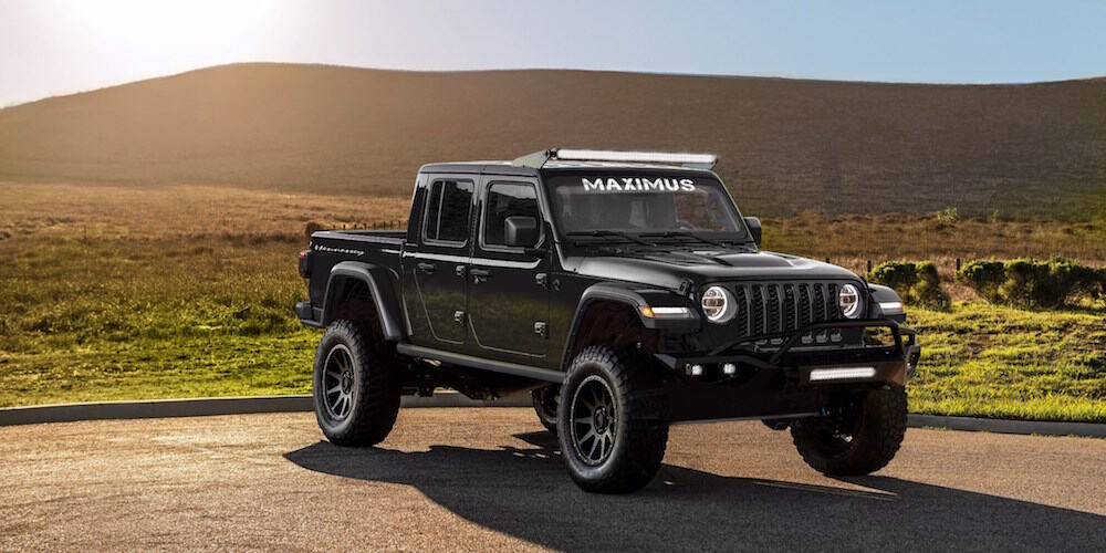 Hennessey's V8-Powered MAXIMUS 1000 is the Ultimate Gladiator