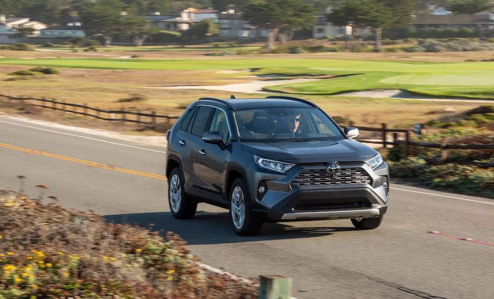 2019 Toyota RAV4 Limited Review rolling front