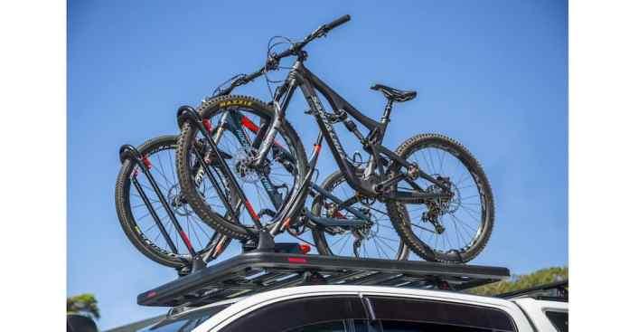 Yakima LockNLoad roof rack bike mount
