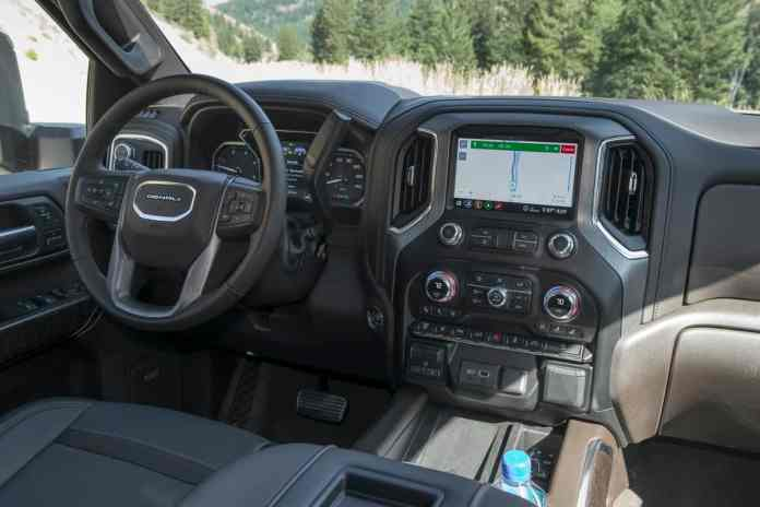 2020 GMC Sierra 2500HD Denali interior