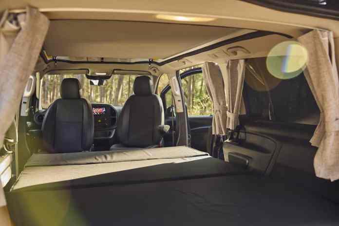 2020 Mercedes-Benz Metris Weekender Popup Camper Van interior