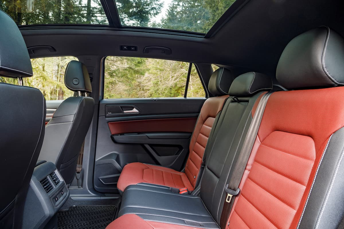 2020 Volkswagen Cross Sport rear seats