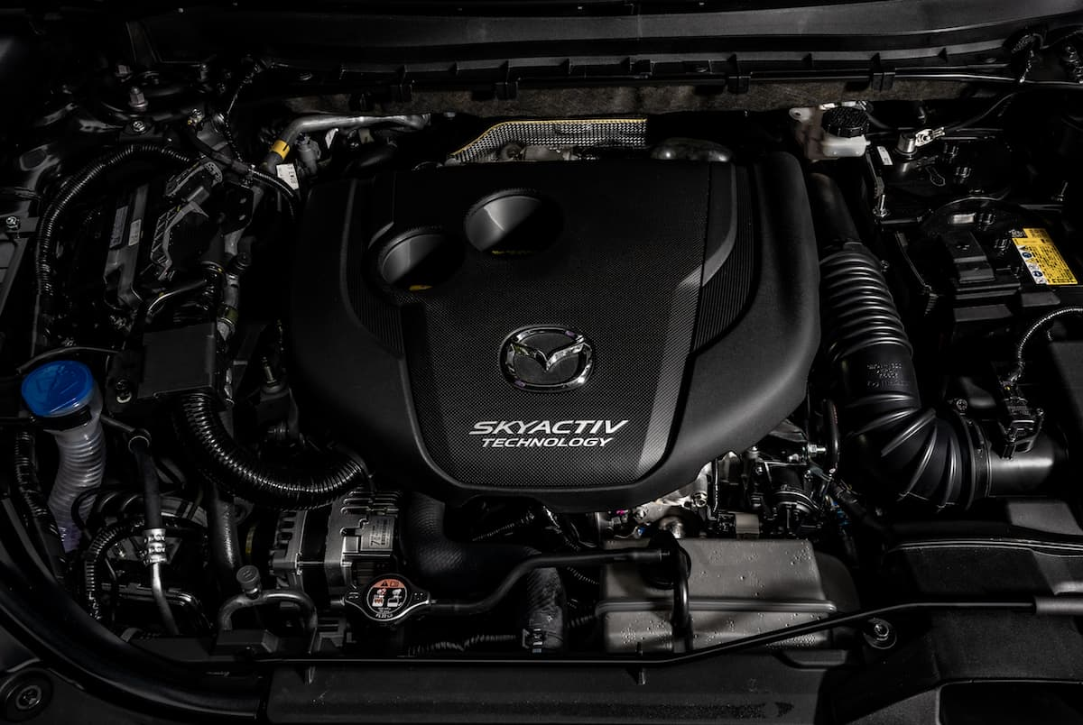 Mazda CX-5 Skyactiv-D Signature Review engine