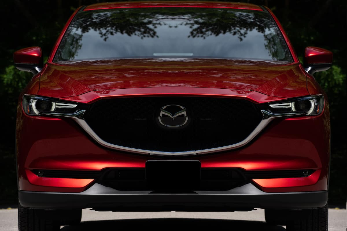 Mazda CX-5 Skyactiv-D Signature Review front grill
