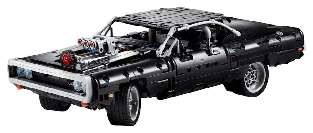 doms charger lego set front view