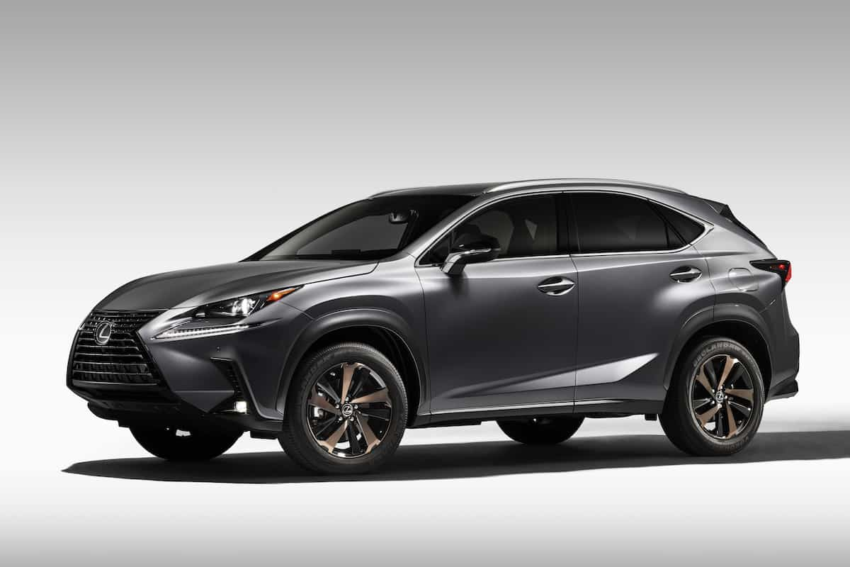 2020_Lexus_NX side view