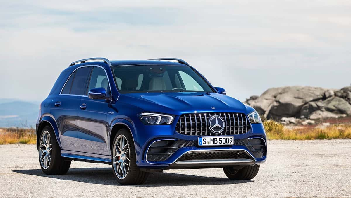 2021 Mercedes-AMG GLE 63 front