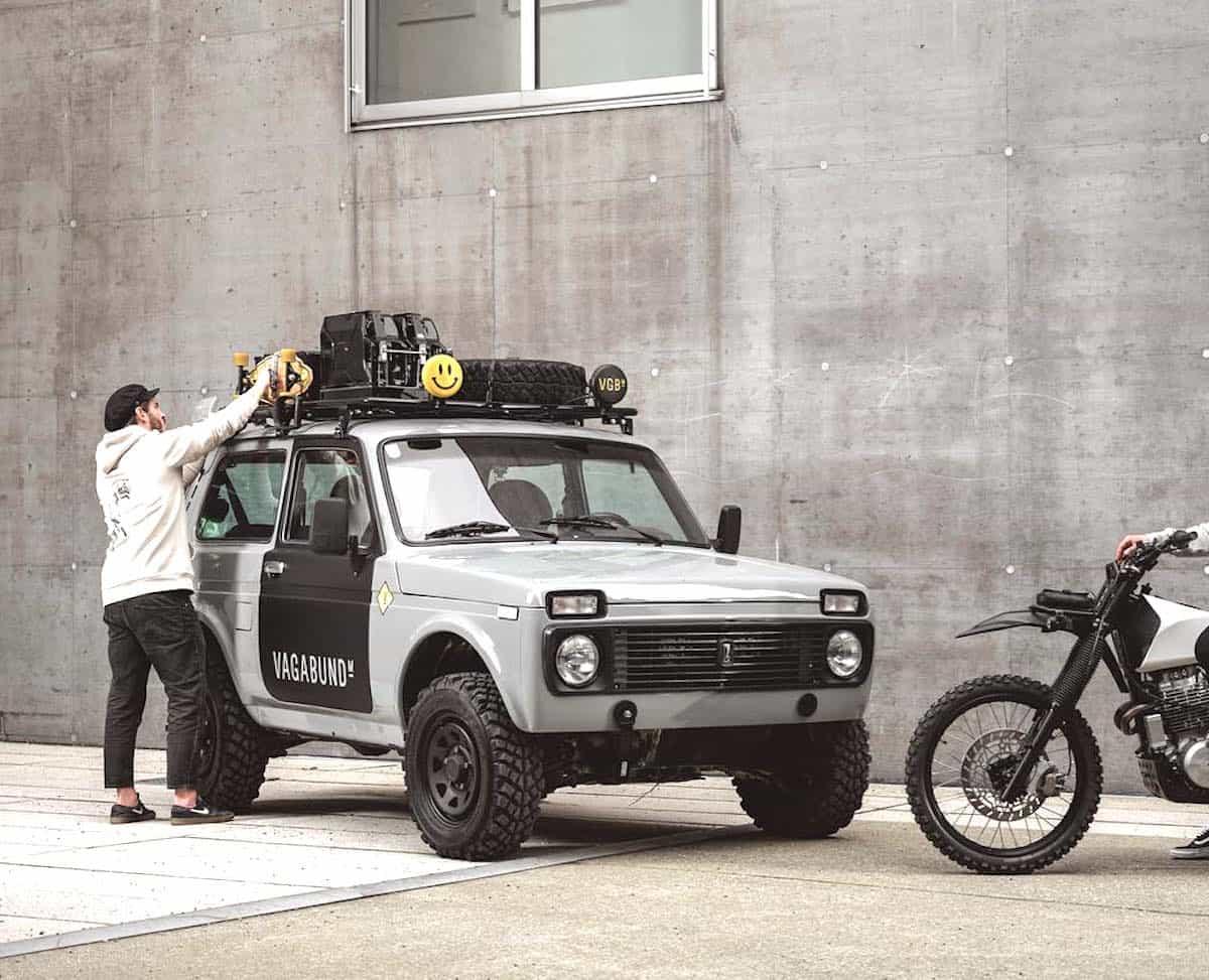 lada niva 4x4 custom by vagabund moto