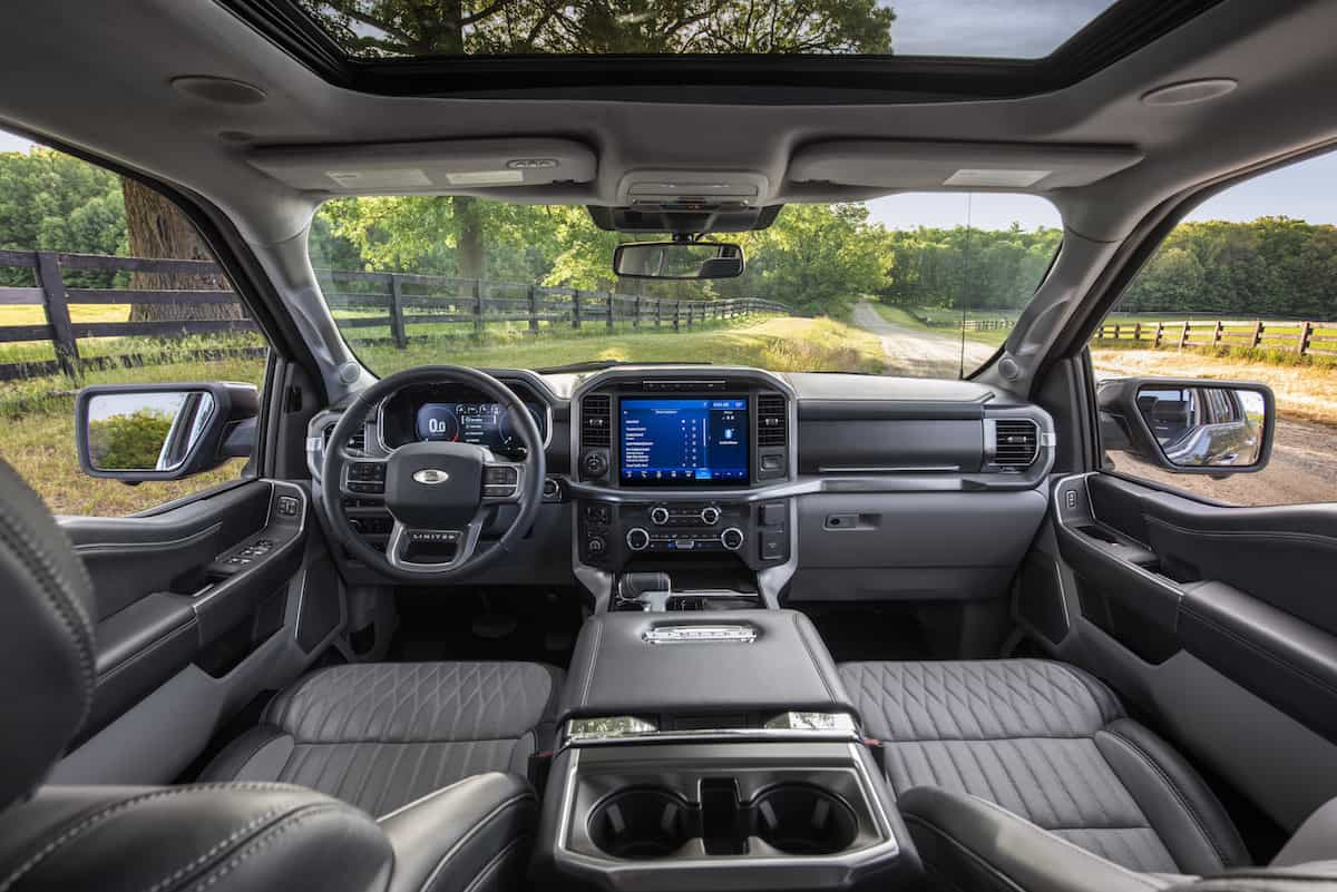 2021 Ford F-150 xl limited interior