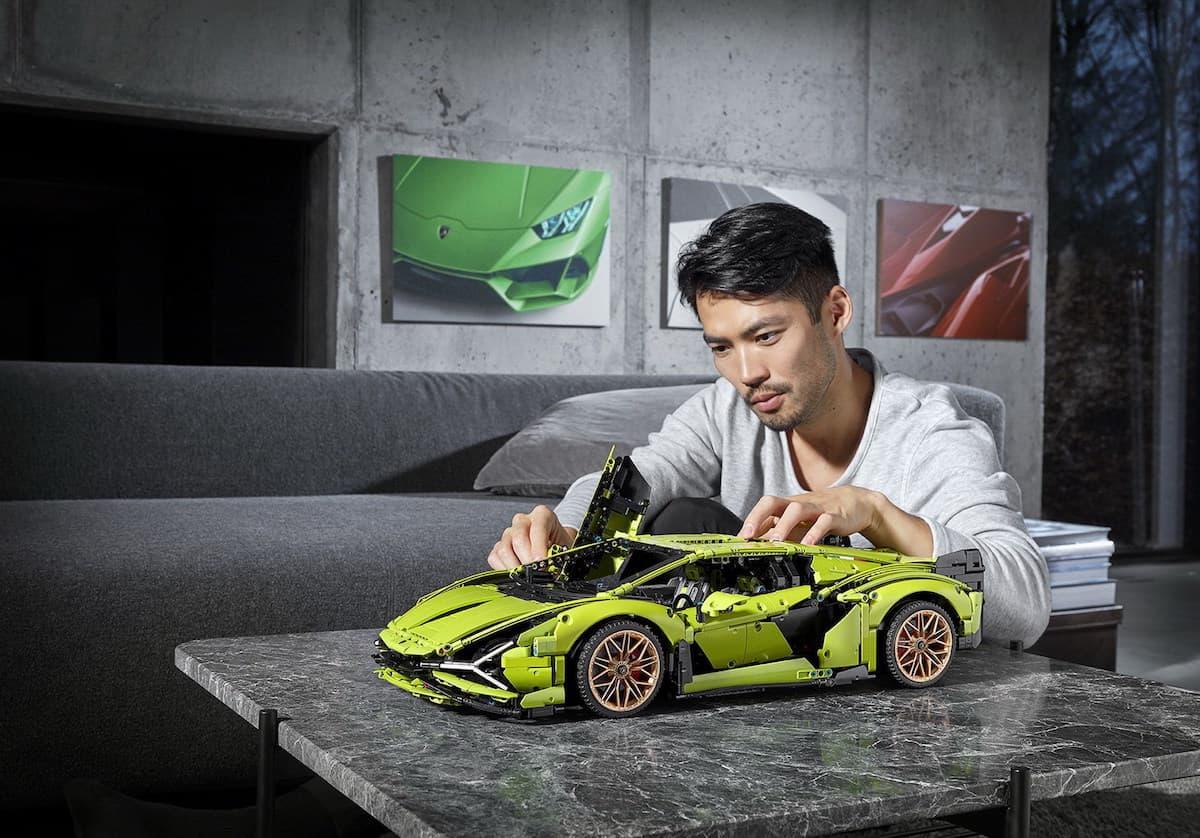 Lego Technic Lamborghini Sián FKP 37 finished 2
