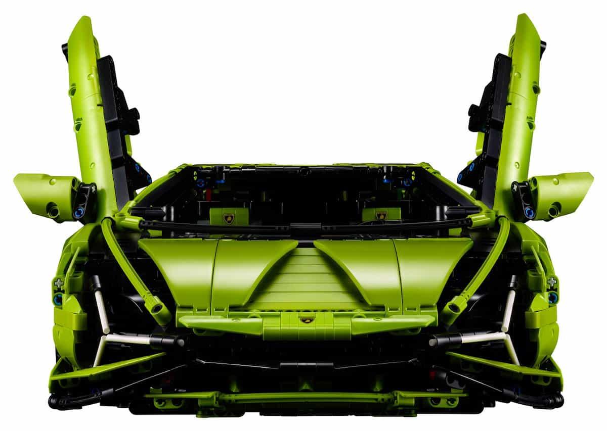 Lego Technic Lamborghini Sián FKP 37 front look