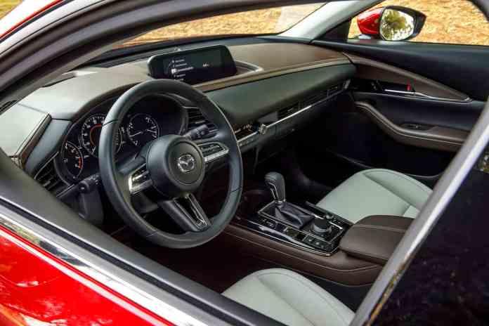 2020 mazda cx-30 crossover interior