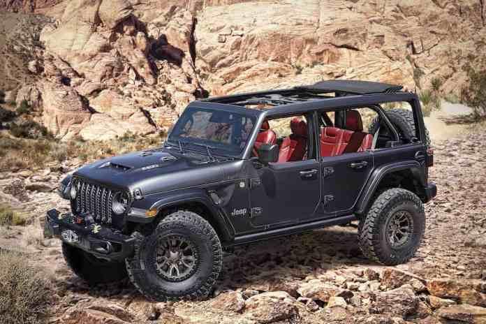 V8 Jeep Wrangler Rubicon 392 Concept