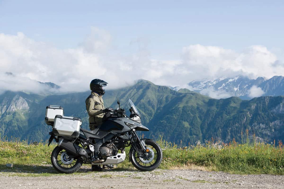 2020 Suzuki V-Strom 1050 lifestyle outside