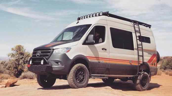 Beast Mode 4 4 Off Road Camper Van Tractionlife Com