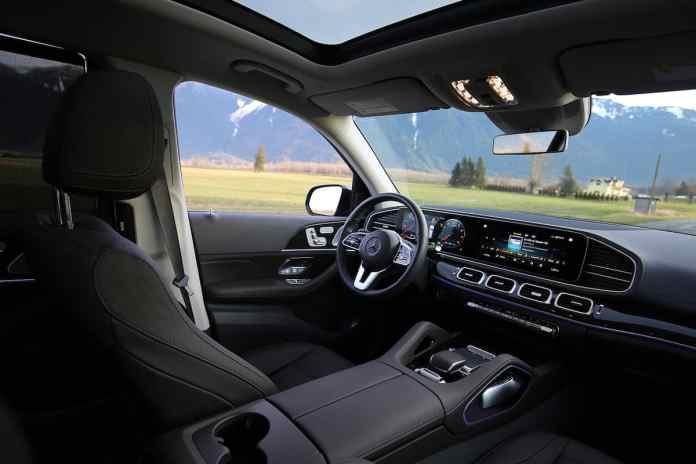 2020 Mercedes-Benz GLS450 4Matic interior