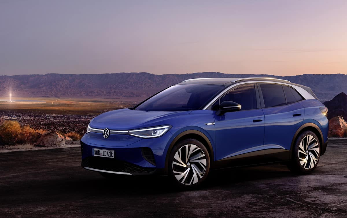 2021 VW ID4 compact electric suv 21