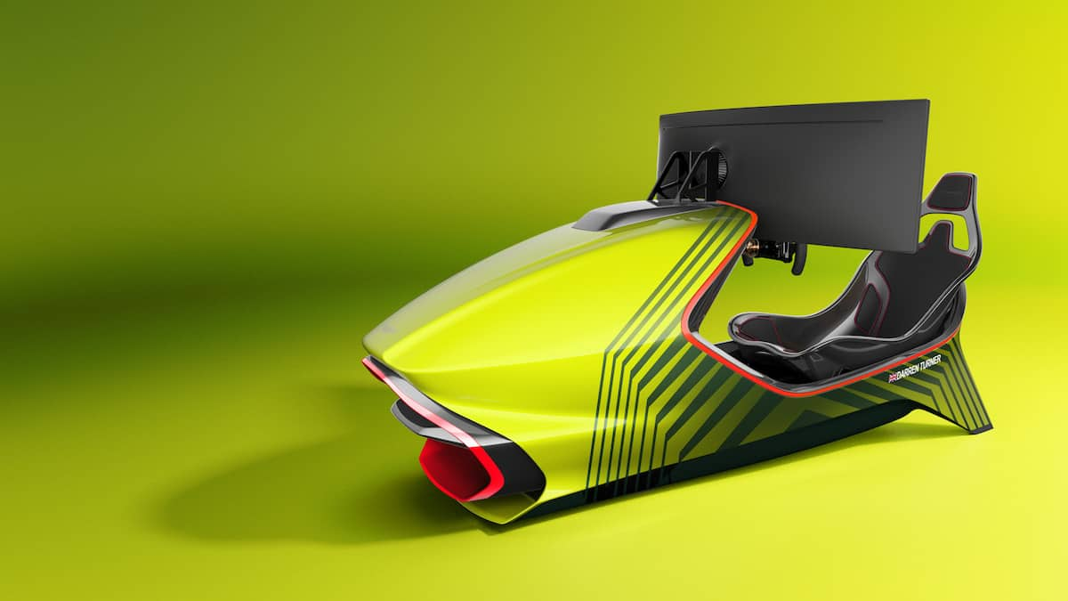Aston Martin AMR-C01 Racing Simulator Cockpit 13
