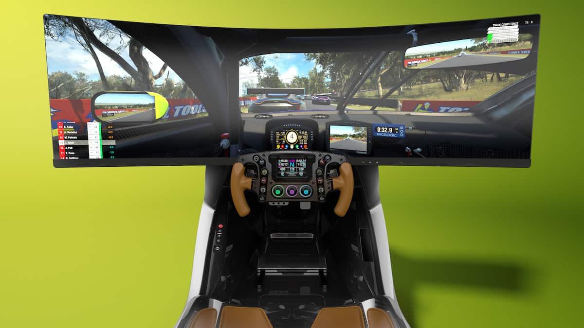 Aston Martin AMR-C01 Racing Simulator Cockpit 2