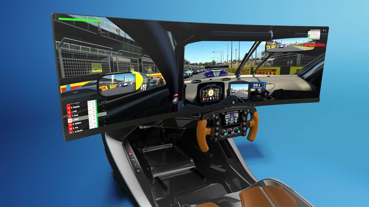 Aston Martin AMR-C01 Racing Simulator Cockpit 6