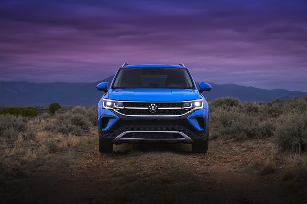 2022 VW Taos compact SUV 10