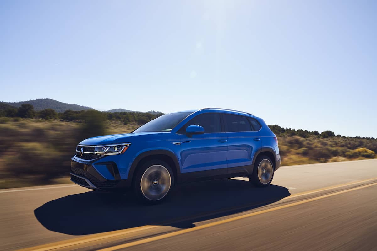2022 VW Taos compact SUV 26