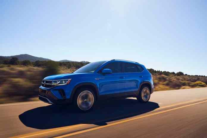 2022 VW Taos compact SUV