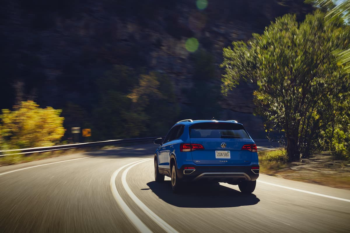2022 VW Taos compact SUV 28