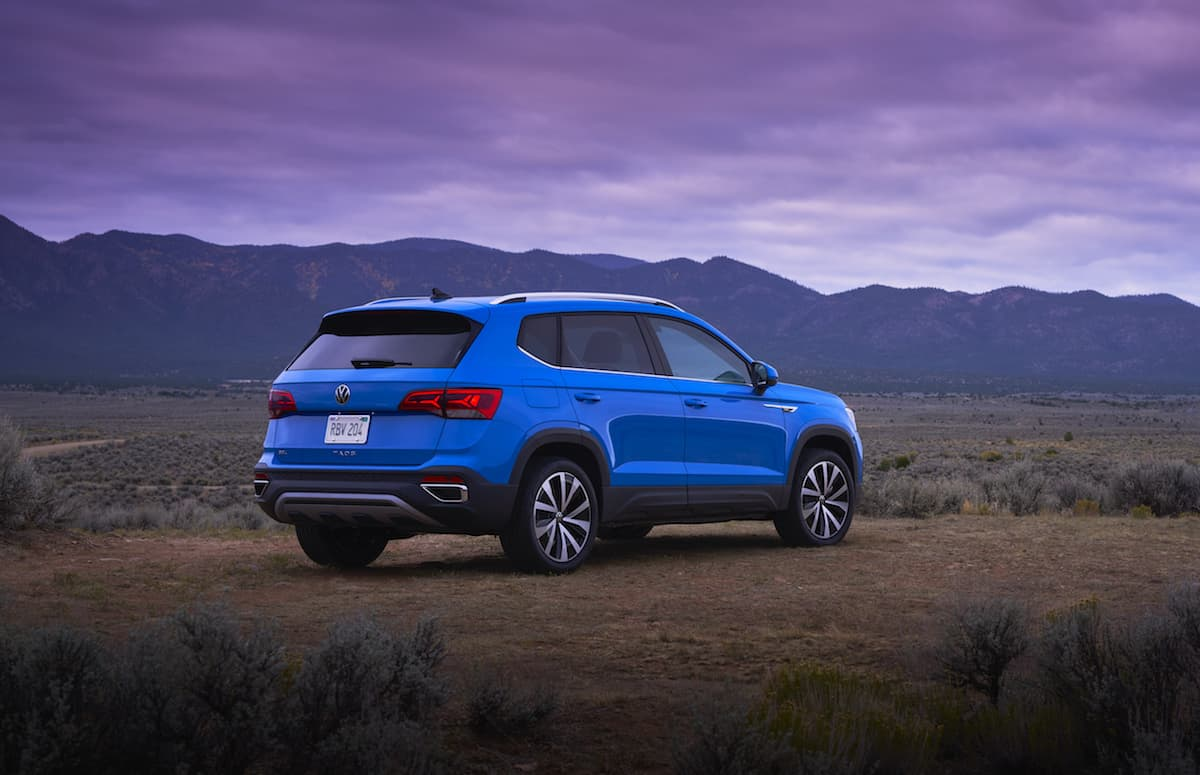 2022 VW Taos compact SUV 5