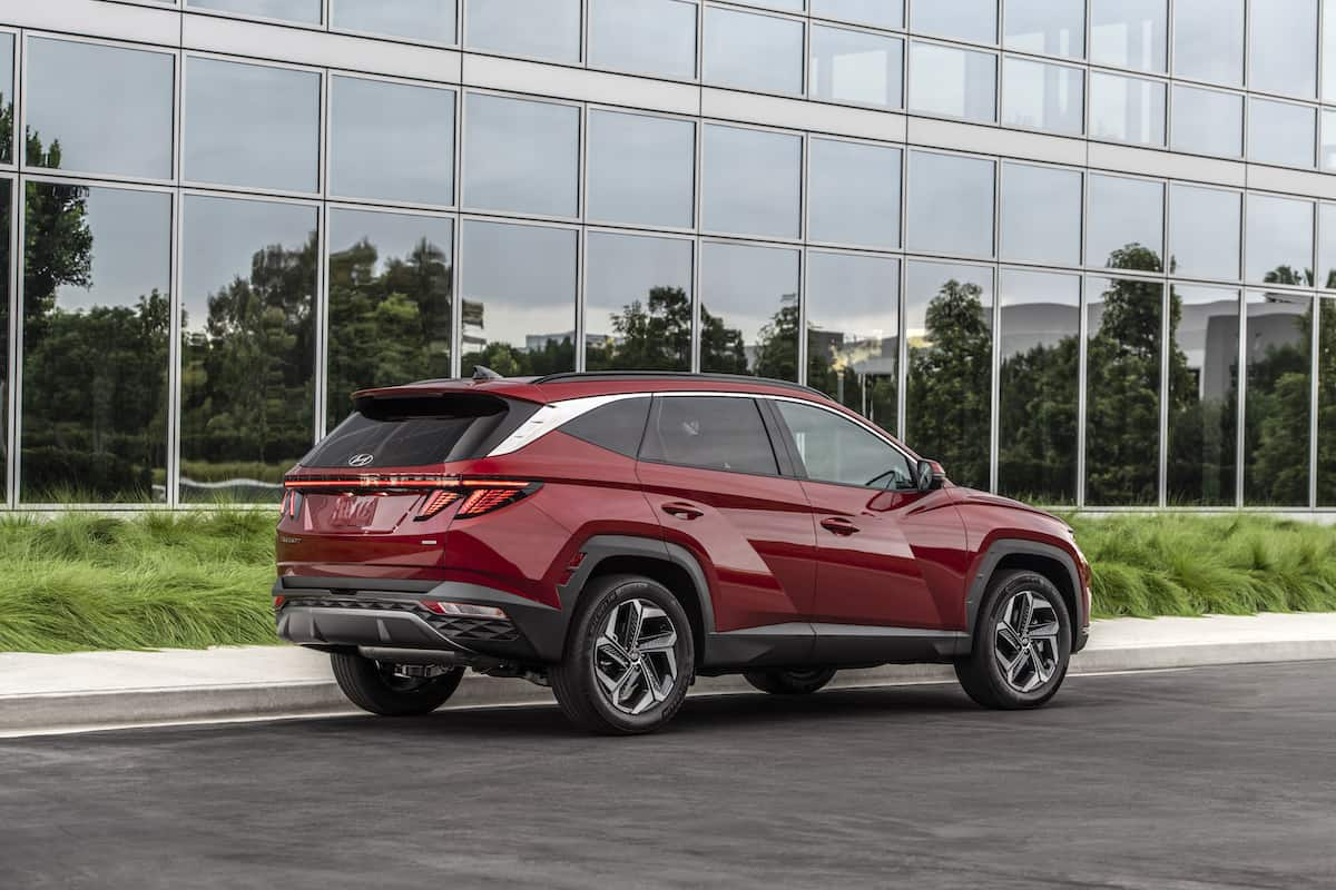 2022 Hyundai Tucson rear