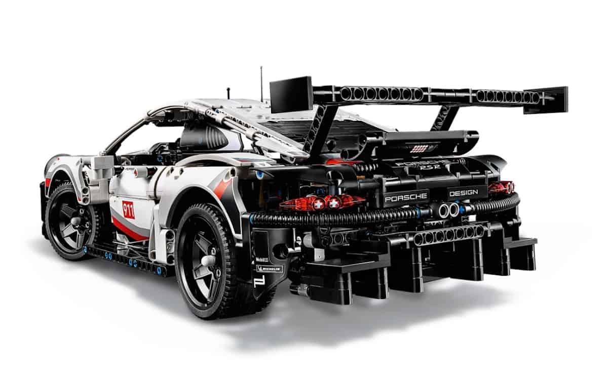 LEGO Technic Porsche 911 RSR rear copy