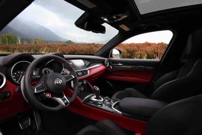 2021 Alfa Romeo Stelvio Quadrifoglio interior