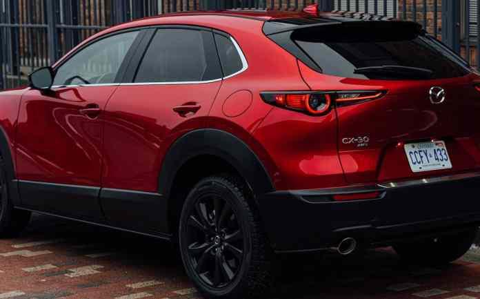 2021 Mazda CX-30 Turbo rear