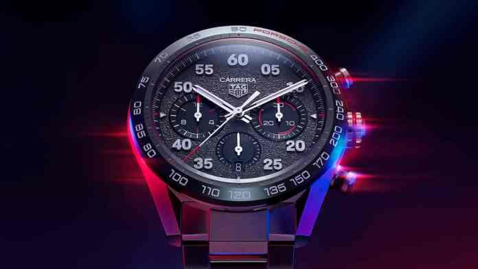 TAG Heuer Carrera Porsche Chronograph front face