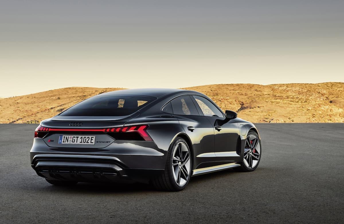 2022 Audi e-tron GT rear