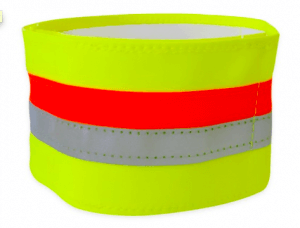 tractive reflective collar band