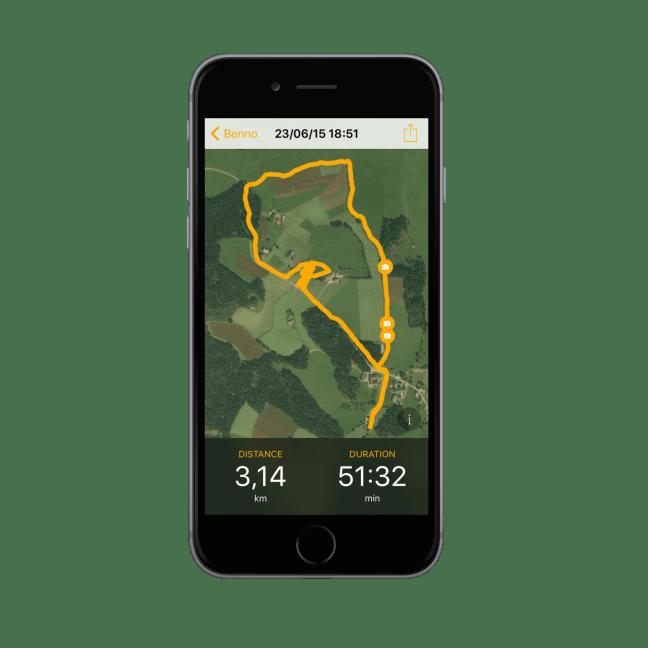 Dogwalk - Spaziergang der geteilt werden soll