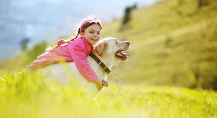 Kuscheln mit Hund