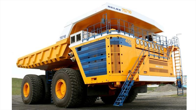 camión más grande del mundo